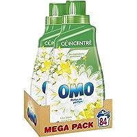 Omo Lessive Liquide Concentrée Lilas Blanc & Ylang Ylang 84 Lavages (Lot de 2x42 Lavages)