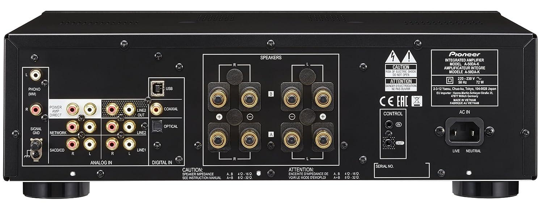 Pioneer A-50DA-S/SY8 Color Plata- Amplificador/Transformador estéreo: Amazon.es: Electrónica