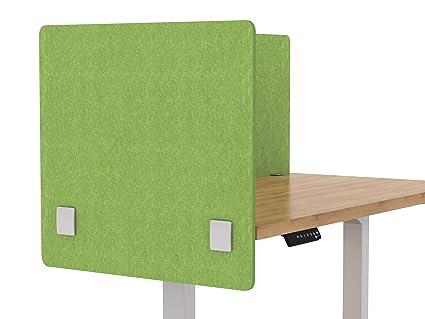 Merge Works Acoustic Partition, Sound Absorbing Desk Divider U2013 24u201d W X 24u201d