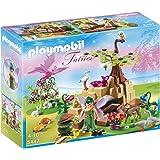Playmobil Hadas - Hada de la salud Elixia con animales del bosque (5447)