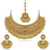 Sukkhi Jewellery Sets for Women (Golden) (N72392ADHT112017)