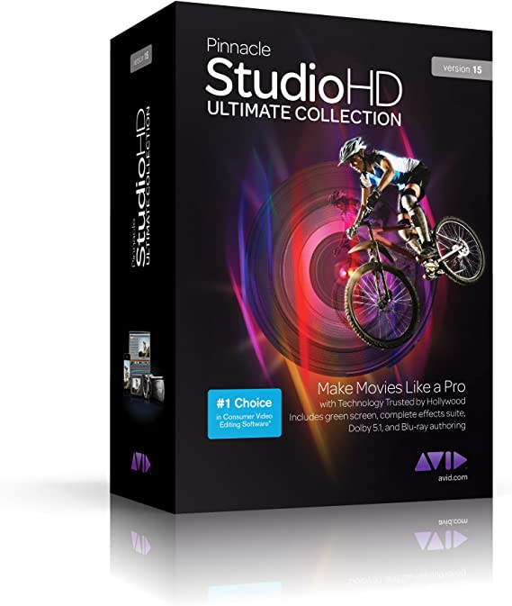 Buy Pinnacle Studio 15 HD Ultimate Collection mac width=