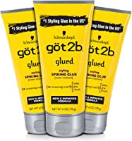 Got2b Styling Spiking Hair Glue, 6 Ounce, 3 Count
