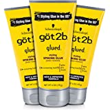 Got2b Glued Styling Spiking Hair Glue, 6 Ounce (Count of 3)