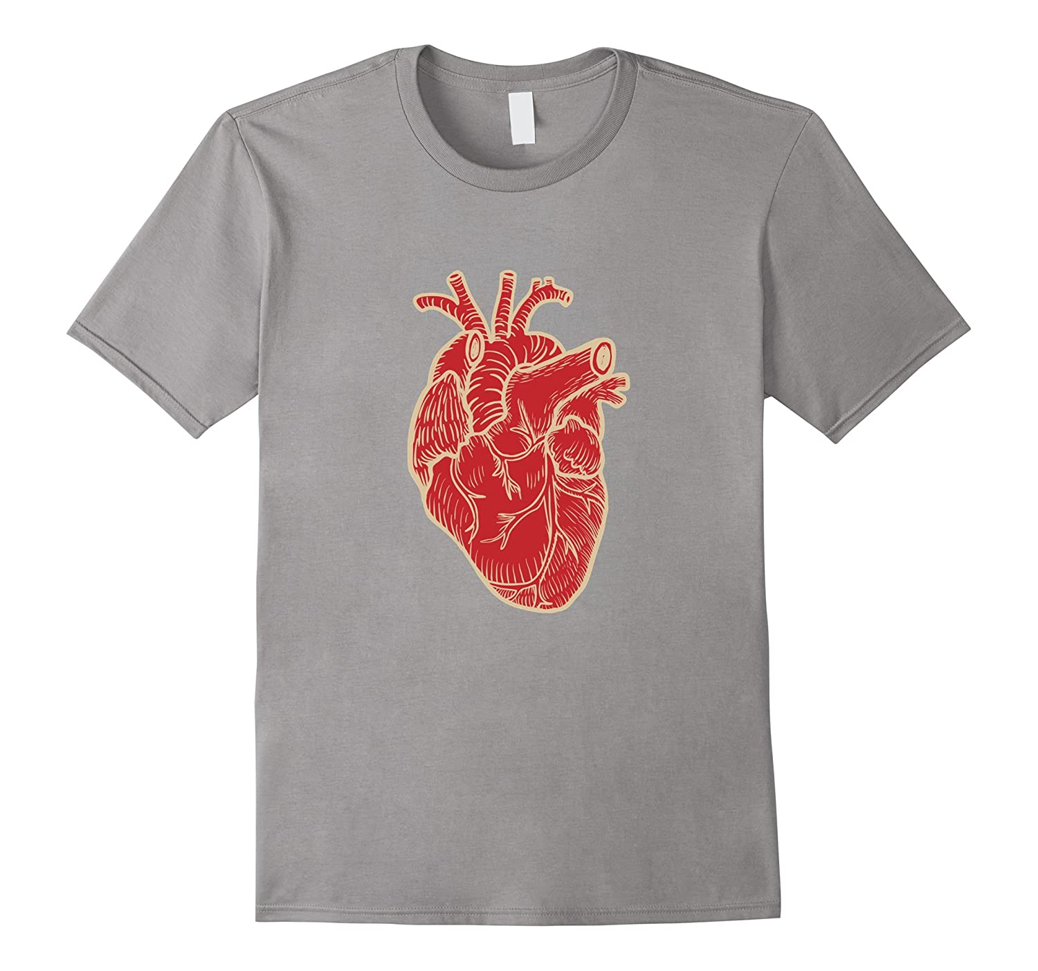 Anatomical Heart T-Shirt-TH