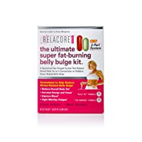 Relacore Ultimate Super Fat Burning Belly Bulge Kit - Diet Pills - Stress Relief - Cortisol Supplements for Women and Men - 105 Count