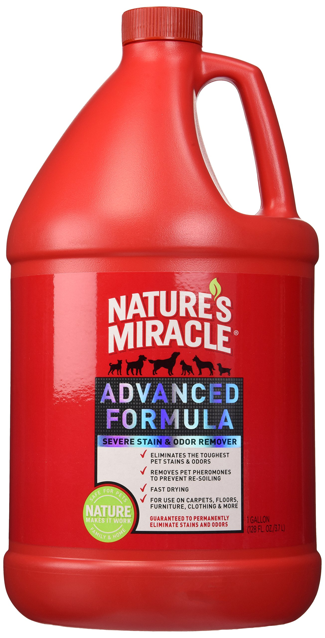 Nature's Miracle Advanced Stain and Odor Remover Gallon by Nature's Miracle