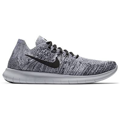 quality design dd8a3 385eb ... sweden nike mens free rn flyknit 2017 running shoe white black stealth  pure platinum 765c8 c33f0