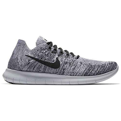 08ad5e4dd084 Nike Men s Free RN Flyknit 2017 Running Shoe White Black-Stealth-Pure  Platinum 14. 0  Buy Online at Low Prices in India - Amazon.in