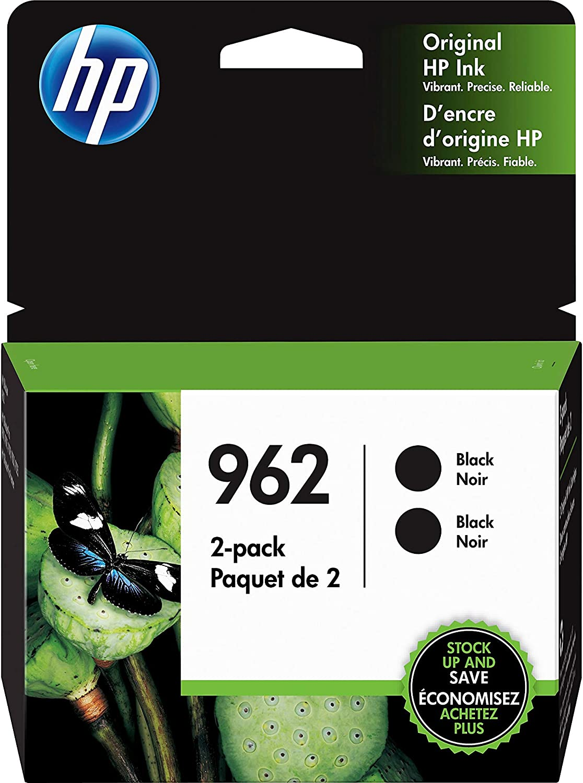 HP 962 | 2 Ink Cartridges | Black | 3HZ99AN