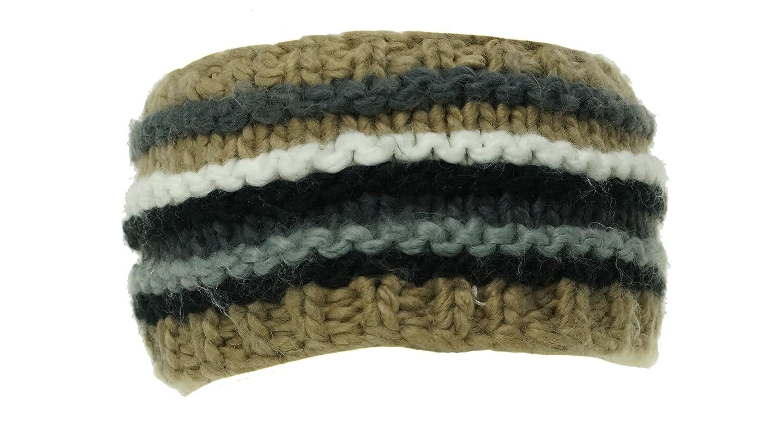 Multi Striped Winter Headband