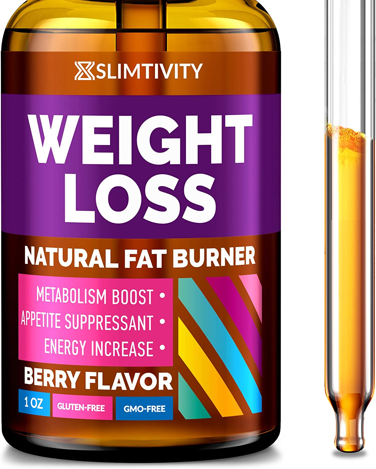 Diet Drops for Appetite Suppression - Weight Loss Drops for Adults - Appetite Suppressant for Fast Weight Loss - Advanced Metabolism Booster - Hunger Suppressant for Fat Burn: Health & Personal Care
