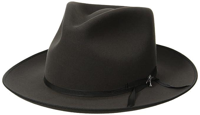 fcddca09b94fc3 Stetson Men's Stratoliner Roayl Quality Fur Felt Hat, Caribou, 7 ...
