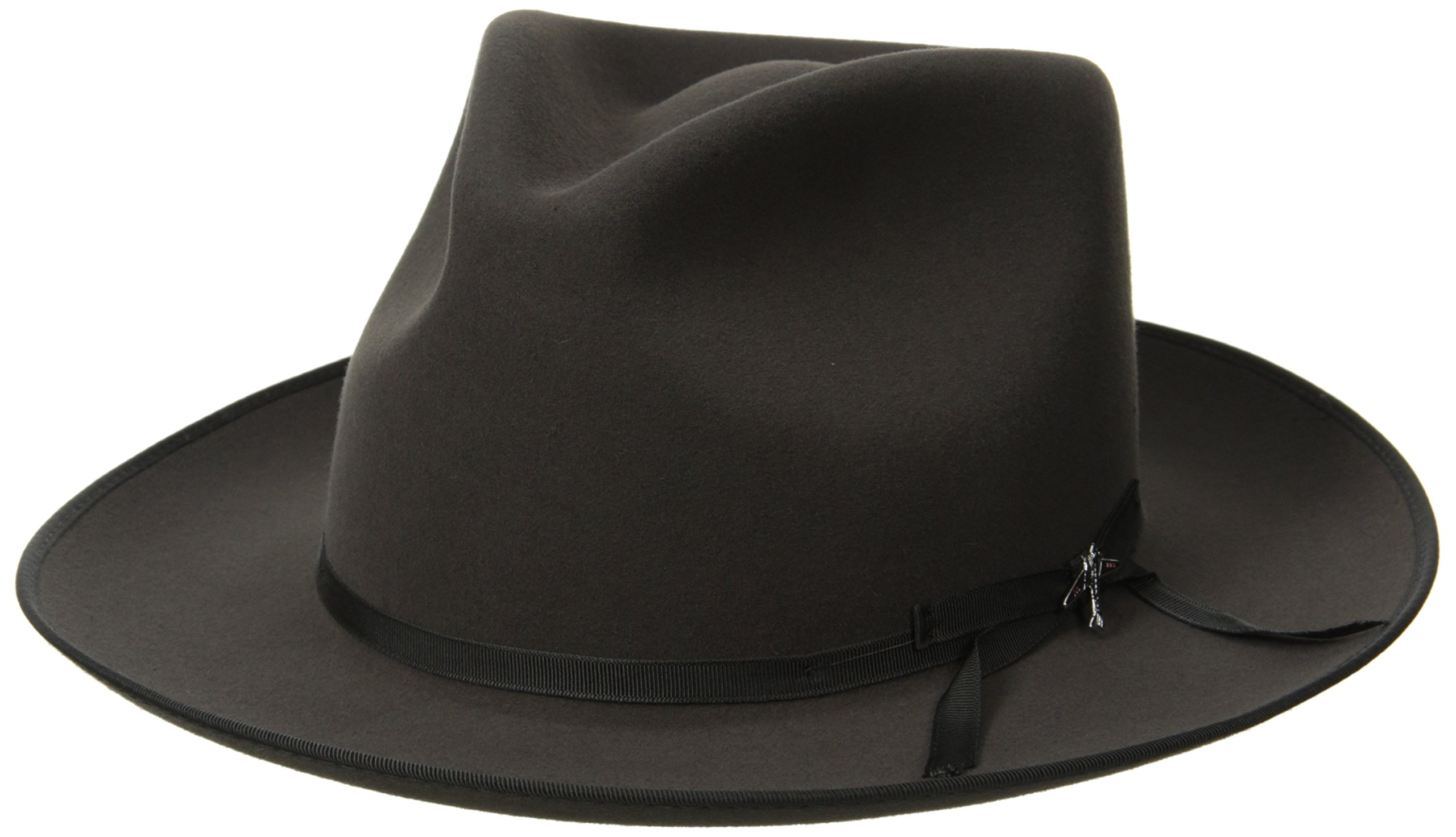 Stetson Men's Stratoliner Roayl Quality Fur Felt Hat, Caribou, 7.375