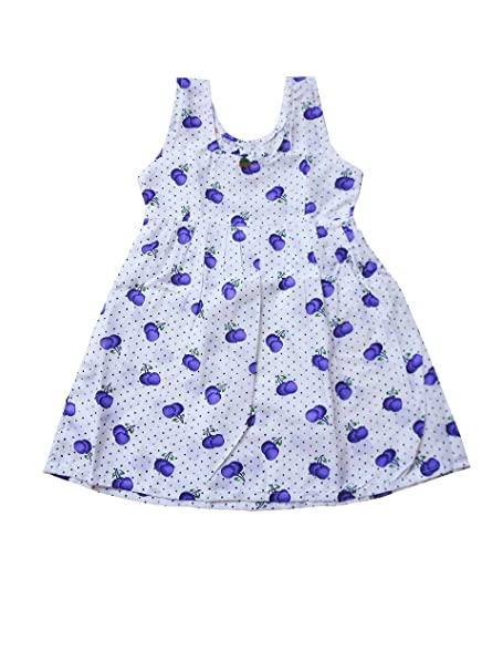 7f763b207d785 Style Up Baby Girl's Cotton Summer Wear Frock Dress: Amazon.in ...