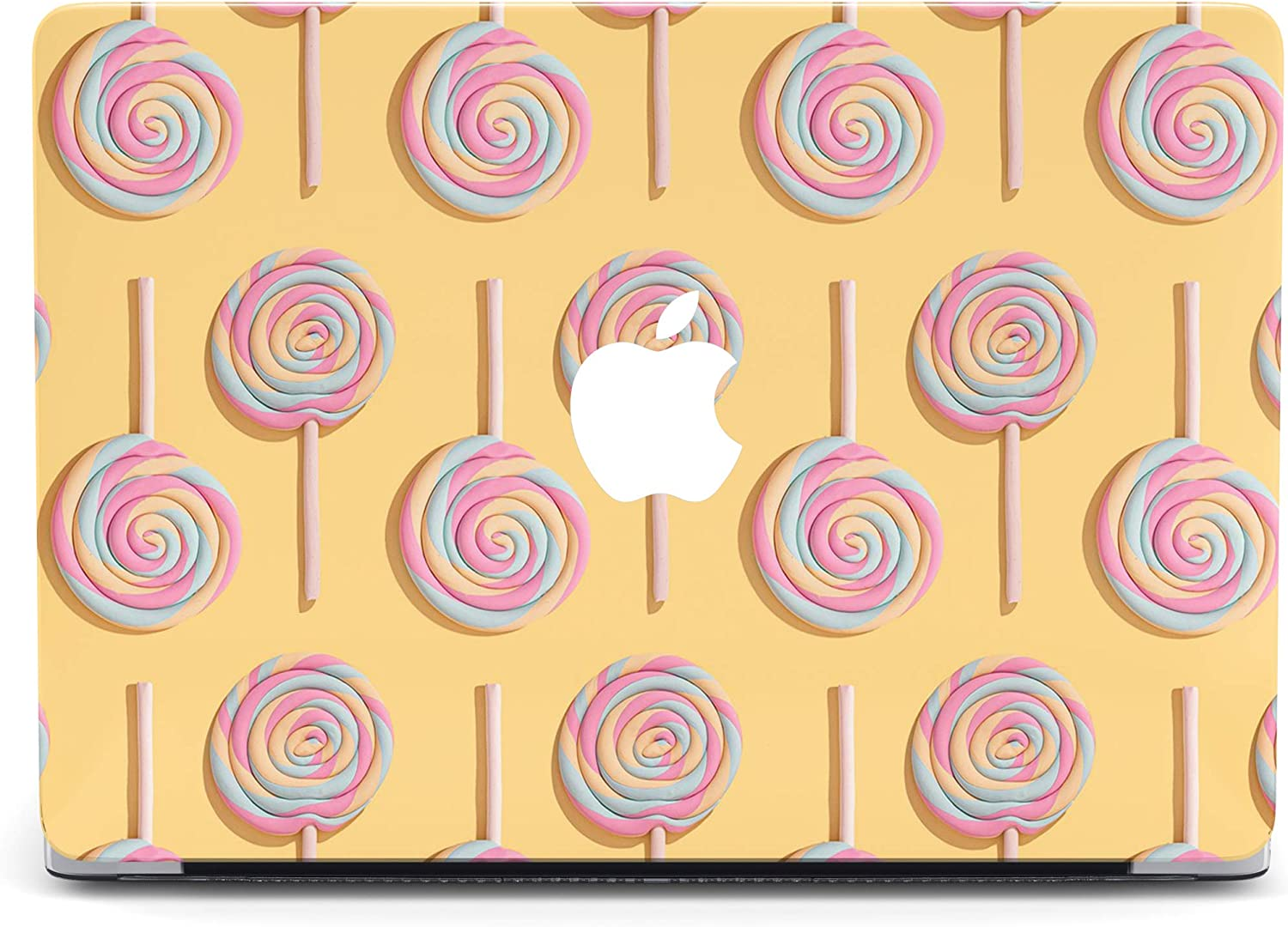 Food Lollipop Protective case Compatible with Apple MacBook Mac Air Pro 13 12 15 16 13.3 inch Retina Cover SN1 (Air 13