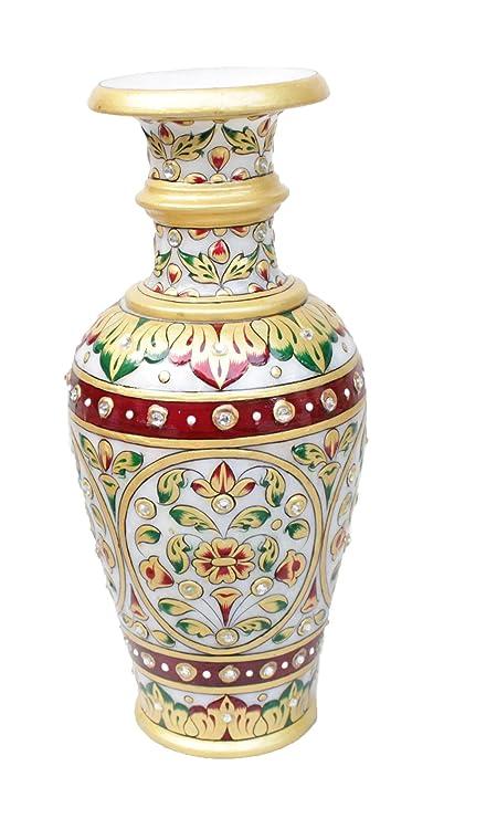 291 & Buy GAC Marble Flower Vase Online at Low Prices in India ...