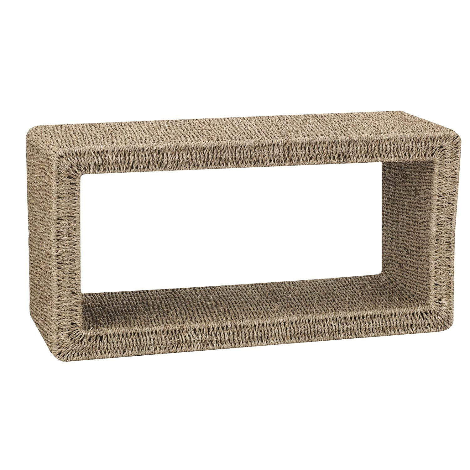 Amazon Household Essentials Woven Seagrass Coffee Table 11