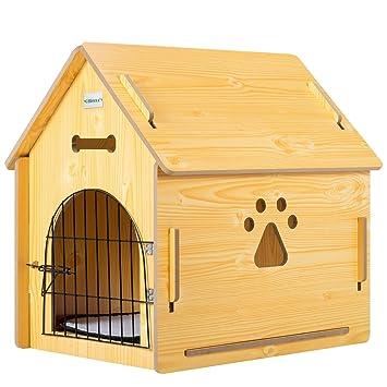 Amazon.com: Anyway perro casa caseta Portable hogar gato ...
