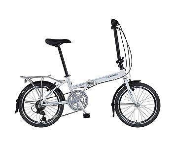 "Nitro Motors - Bicicleta plegable (rueda 20"", frenos V-brake, cambio"