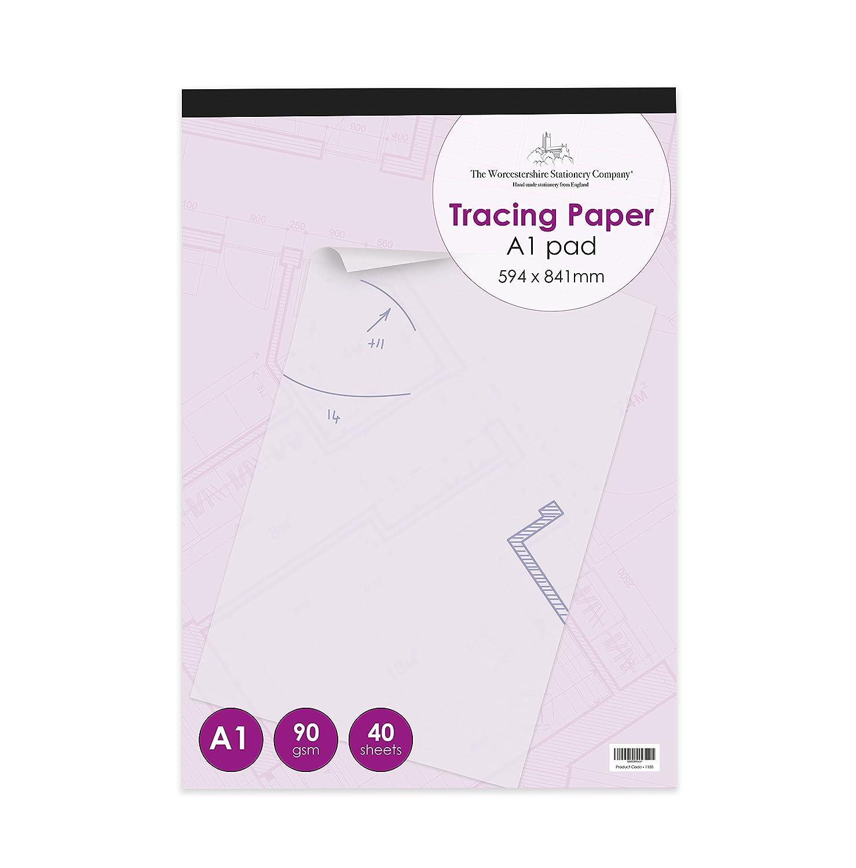 Cuaderno de calco gr/áfico 112/g//m/², A2, 30 Hojas Frisk C-Trace Transparente