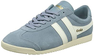 20638a34d45f Amazon.com   Gola Women's Bullet Suede Sky Blue/Off White Sneakers   Fashion  Sneakers