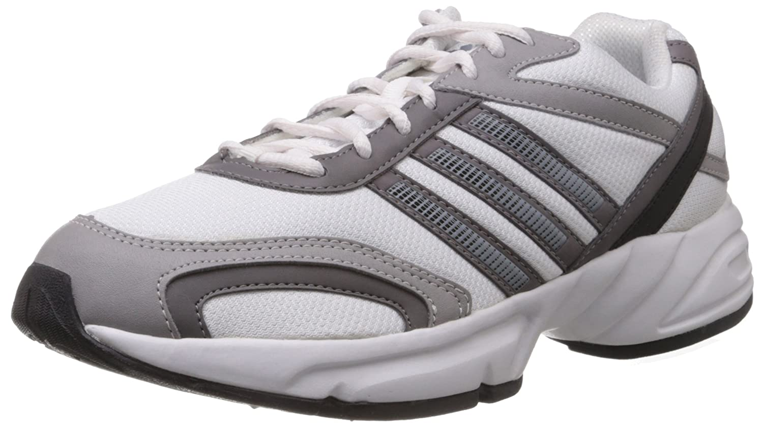 Desma White and Grey Running Shoes