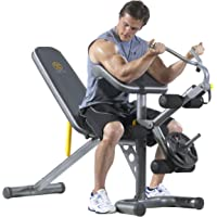 Gold's Gym XRS 20 Olympic Workout Bench and Rack