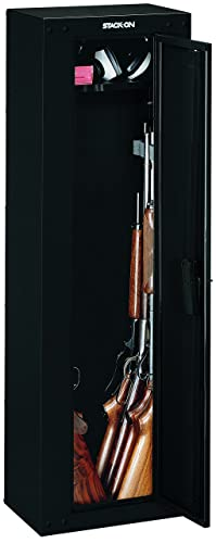 Stack-On GCB-8RTA Steel 8-Gun Ready to Assemble Security Cabinet, Black review