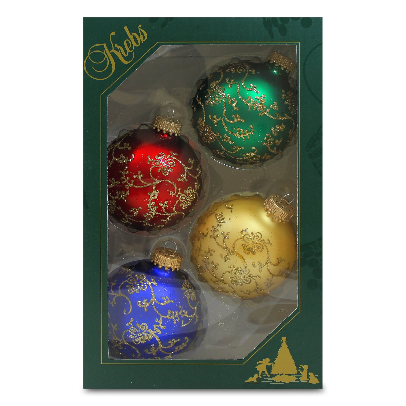 Christmas By Krebs KBX62404 Ornament, Multicolor