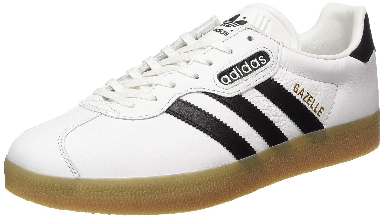 adidas Herren Gazelle Super Sneaker  46 EU|Wei? (Vintage White/Core Black/Gum)