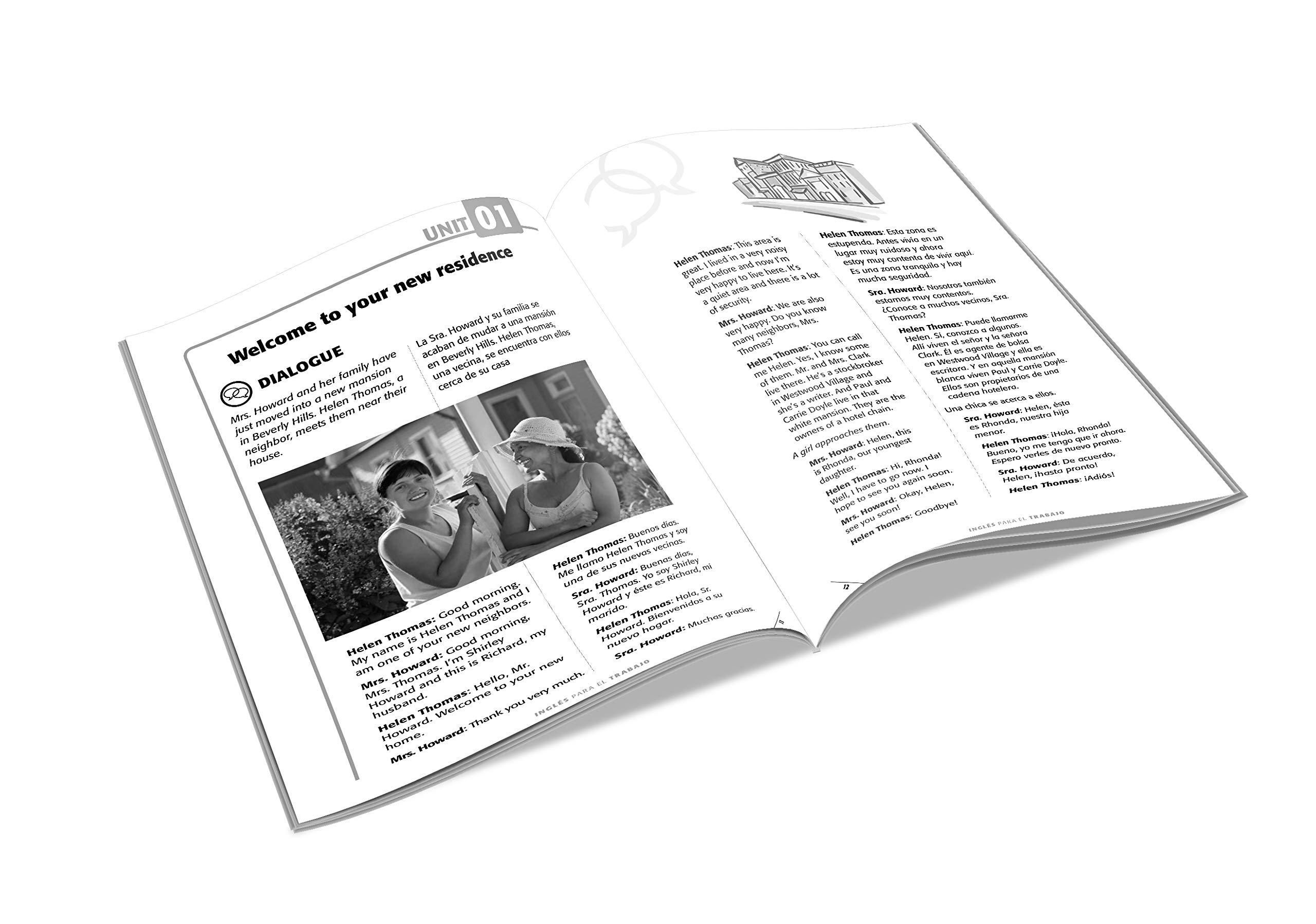 Inglés en 100 días - Inglés para el trabajo / English For Work (Spanish  Edition): Inglés en 100 días: 9781945540882: Amazon.com: Books