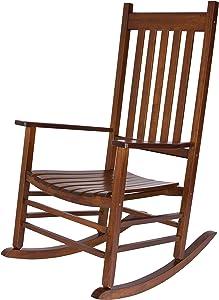 Shine Company Inc. 4332OA Vermont Rocking Chair, Oak