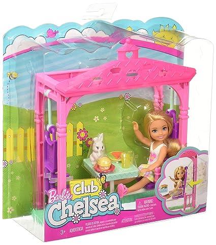 Barbie Club Chelsea Picnic Doll Playset