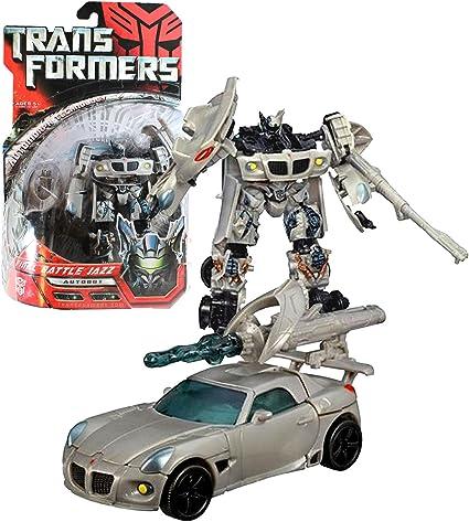 Transformers Movie Autobot Jazz 100/% Complete Deluxe Autobot 2007 Hasbro