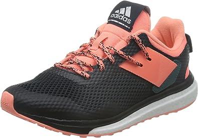 adidas Response 3, Zapatillas de Running para Mujer, (Cblack/Sunglo/Tecgrn), 37 1/3 EU: Amazon.es: Zapatos y complementos