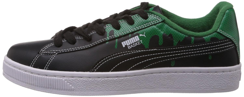 Puma Men's Basket City DP Black Green Shoes 7 UK