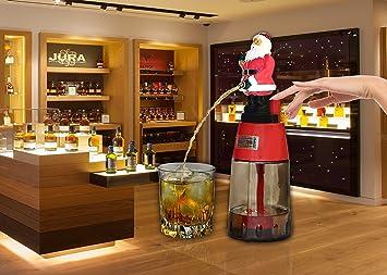 barraid cláusula de Papá Noel redondo dispensador de cerveza de licor 500 ml de capacidad: Amazon.es: Hogar