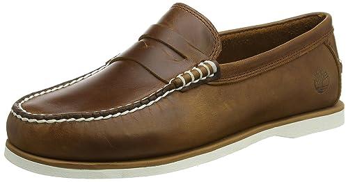 Timberland Classic Penny Loafer, Mocasines para Hombre, Marrón (Sahara Brando), 40 EU: Amazon.es: Zapatos y complementos