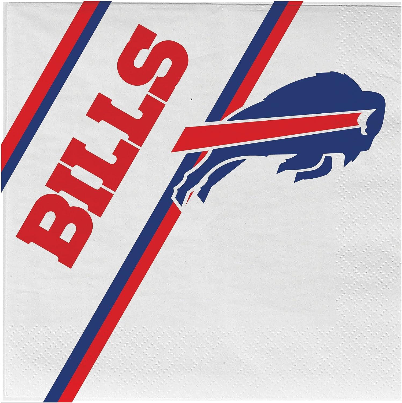 NFL Buffalo Bills Disposable Paper Napkins, Pack of 20