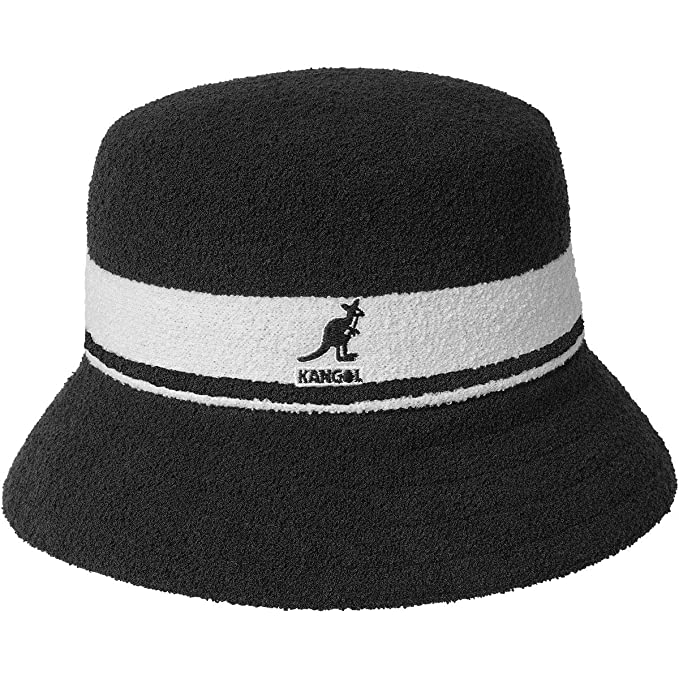 1305a73f69c Kangol Bermuda Stripe Bucket Hat Large Black  Amazon.ca  Clothing    Accessories