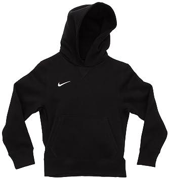 83722ebb312d Nike Jungen Kapuzenpullover Team Sport Core, schwarz weiß, XS, 456001