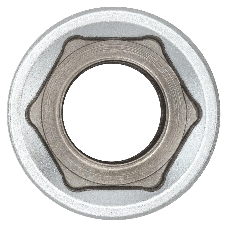 I aus CV-Stahl verchromt I 80768 1//2 2x 24mm Sechskant Steckschl/üssel-Einsatz 1//2 Zoll von WIESEMANN 1893 I Sechskant-Nuss mit Antrieb 12,5mm