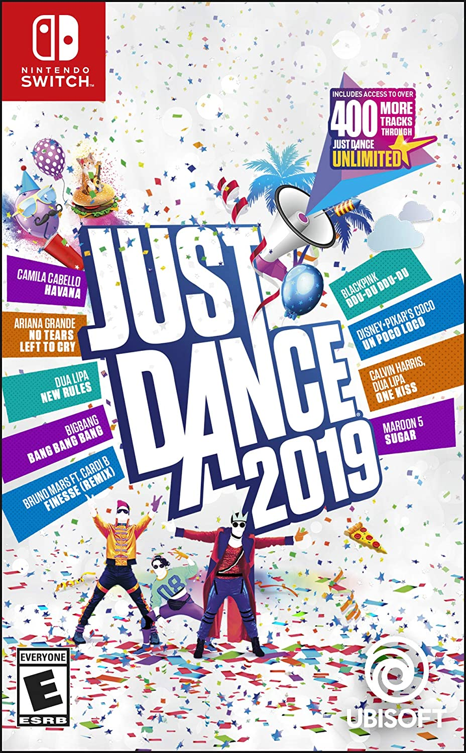 Just Dance 2019   Nintendo Switch Standard Edition by By          Ubisoft