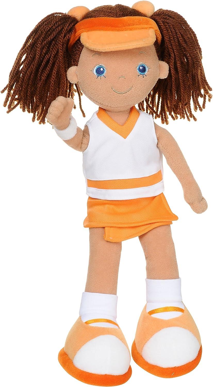 Aurora Naomi - Muñeca de Trapo Vestida de tenista (35,5 cm ...