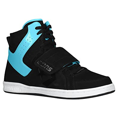 dd3dcb8f09bb Converse Mens Anarchy Hi 10.5 M US Black Peacock Blue White  Amazon.co.uk   Shoes   Bags