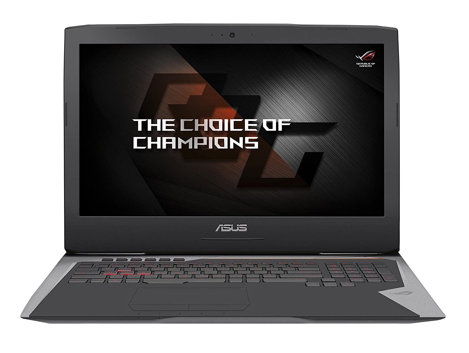 'ASUS g752vs-gc018t Notebook, Monitor 17.3 Full HD (Intel Core i7 – 6700HQ, 16 GB RAM, HDD de 1 TB y SSD 256 GB, NVIDIA gtx1070 8 GB