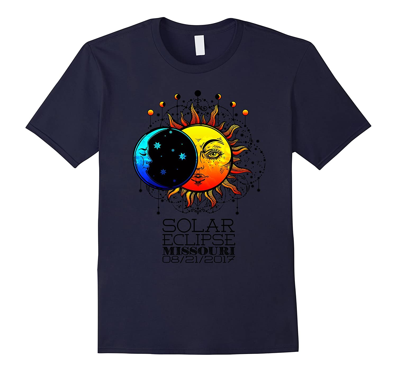 Total Solar Eclipse Missouri Tshirt 2017-BN