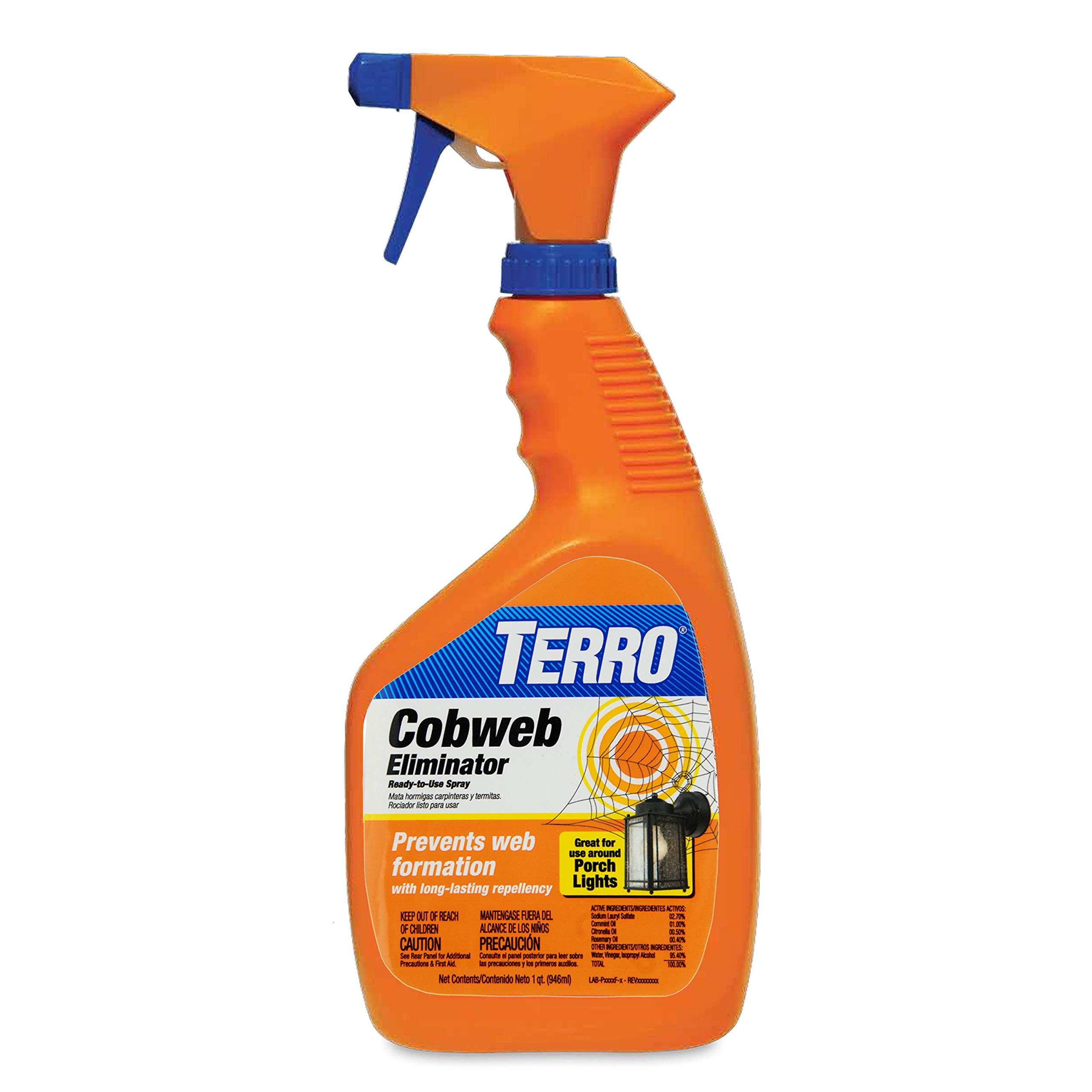 Terro T2360 Cobweb Eliminator 1 quart (946 ml) by Terro