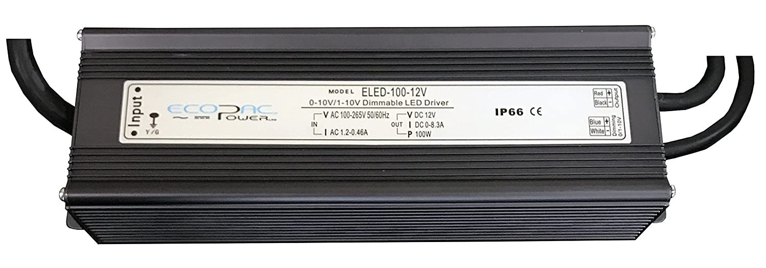 Ecopac ELED-100-24V Dimmable LED Driver 100W 24V